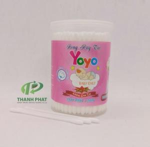 Bông Ráy Tai Cao Cấp Baby YoYo ( Hủ 200 que)